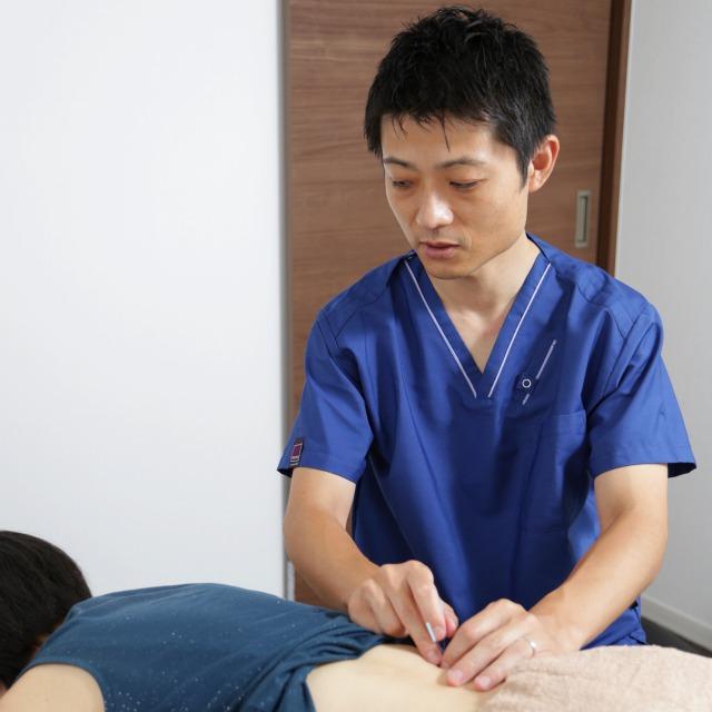 腰部への刺鍼